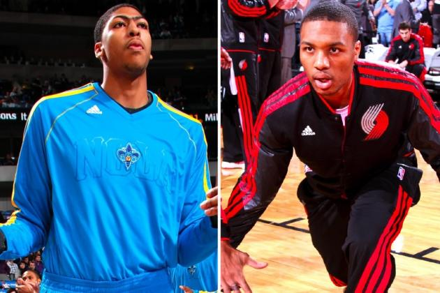 Who Will Win Damian Lillard and Anthony Davis' Rookie of the Year Race?