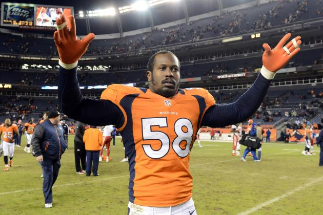 Ravens vs. Broncos: Breaking Down Von Miller, Denver's League-Leading Pass Rush