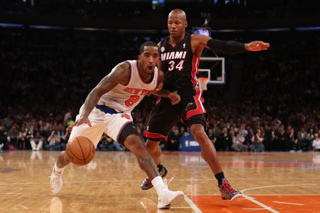 Are Knicks a Threat to Defending Champion Heat as NBA Midseason Approaches?