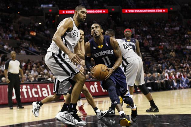 Friday: Spurs (28-10) at Grizzlies (23-10)