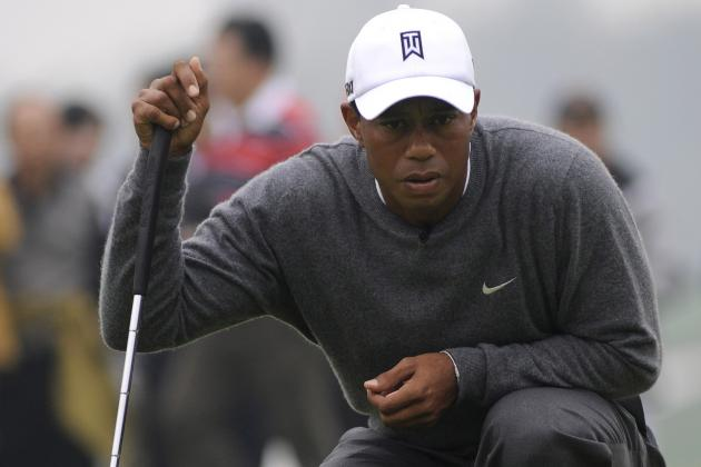 Tiger Recharges on Break, Happy with His Game