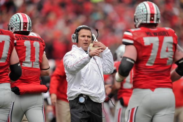 Meyer: OSU Has 'holes to Fill' to Catch Alabama