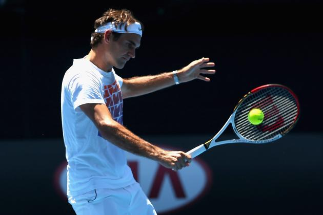 Roger Federer: Breaking Down Tennis Star's 2013 Australian Open Draw