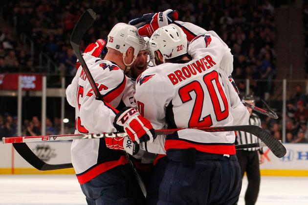 Caps' Hamrlik, Brouwer Clear the Air After Lockout Feud