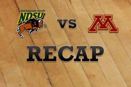 North Dakota State vs. Minnesota: Recap and Stats