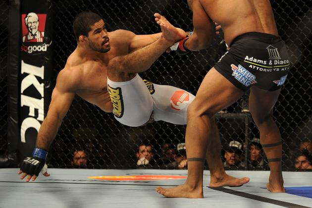 Rousimar Palhares Failed Drug Test; T/E Ratio Exceeded 9/1