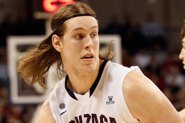 Gonzaga's Kelly Olynyk Blossoms into Superstar During Redshirt Year