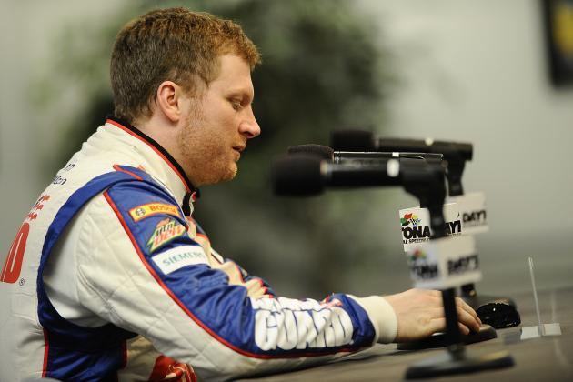 New Car Suits Dale Earnhardt Jr.