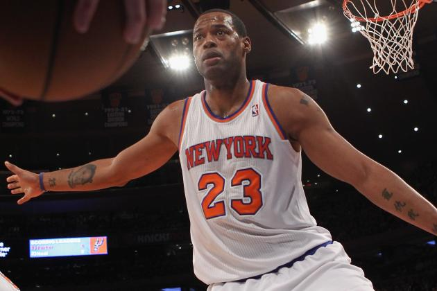 Knicks' Camby Out 2-4 Weeks