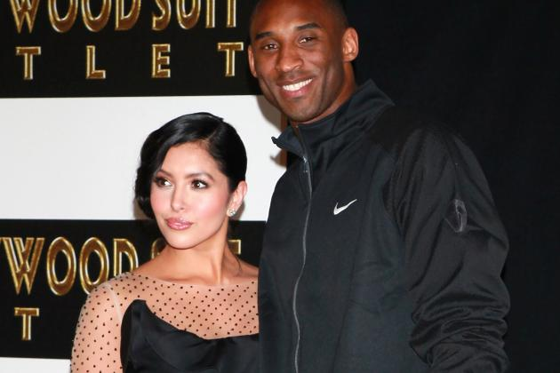 Kobe and Vanessa Bryant Stay Married, Wife of Lakers Star Drops Divorce