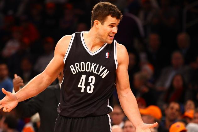 Kris Humphries out Tonight with Sore Ankle