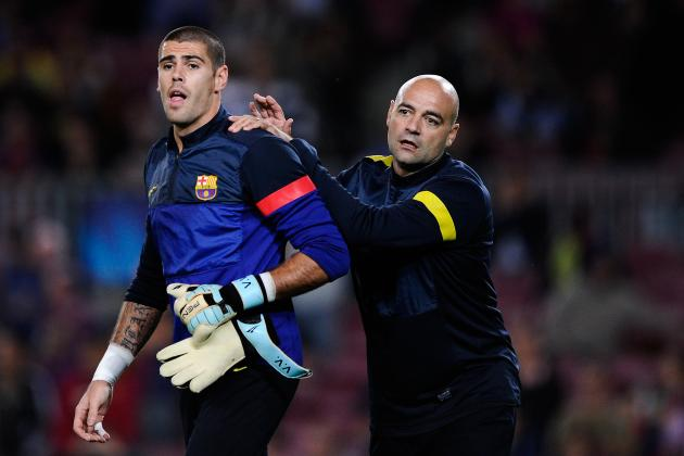 Is Victor Valdes Preparing to Leave Barcelona and La Liga?