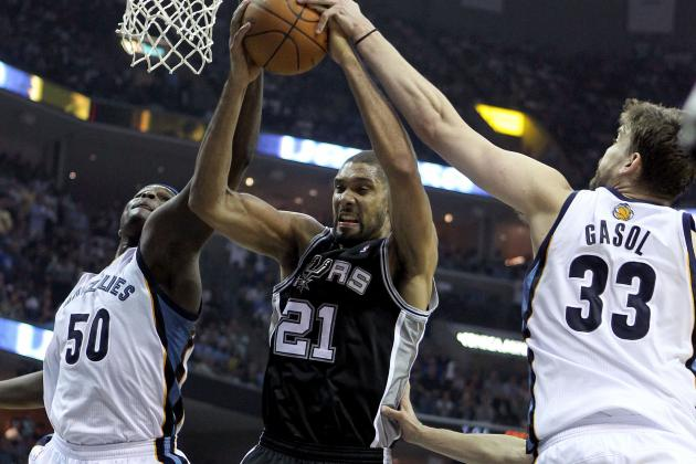 NBA Gamecast: Spurs vs. Grizzlies