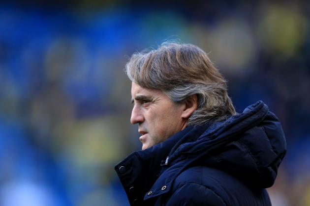 Mancini Challenges City to End Arsenal Jinx