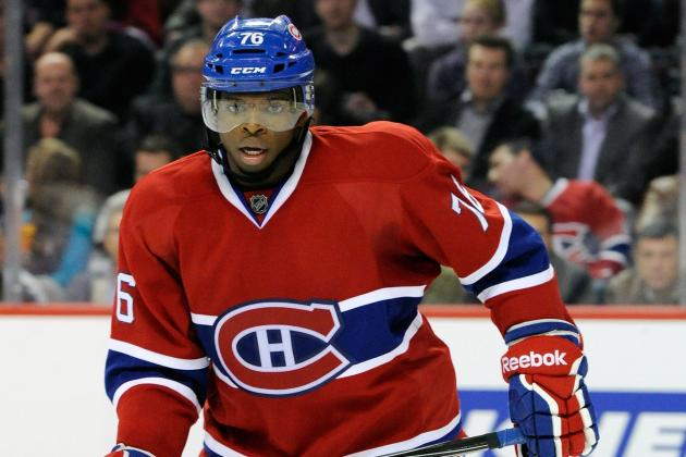 Agent for Canadiens' P.K. Subban Shoots Down Contract Rumors