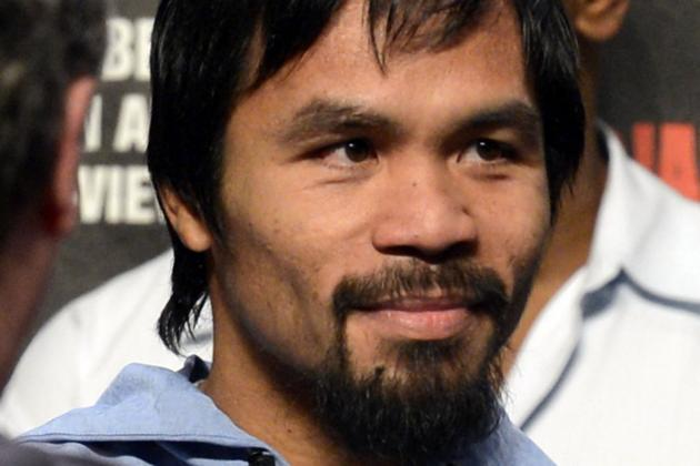 Manny Pacquiao Super Fight May Headline a Filipino Boxing Card in April