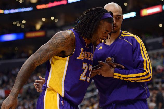 Report: Jordan Hill out for the Season Due to Hip Injury