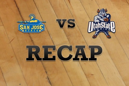San Jose State vs. Utah State: Recap and Stats
