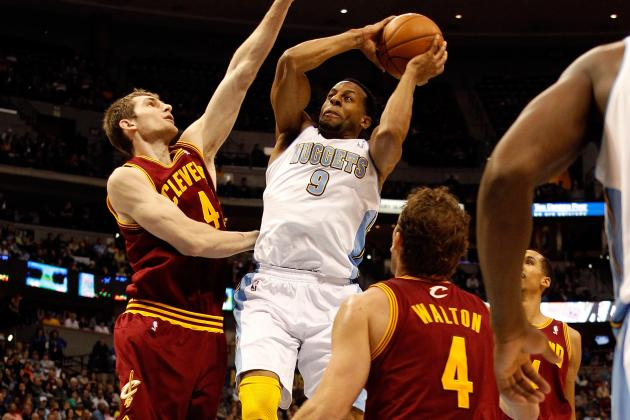 Nuggets rally to defeat Cleveland Cavaliers at the Pepsi Center