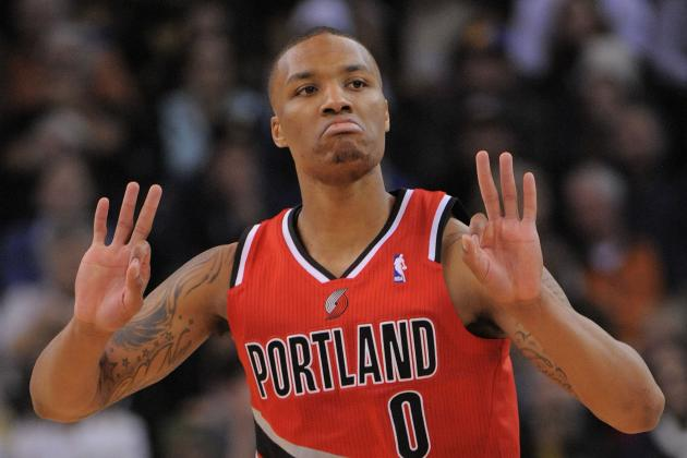 Damian Lillard Explodes in Hometown Debut, Locks Up Rookie of the Year