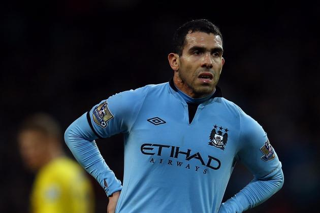 Manchester City Plan Contract Talks with Carlos Tevez