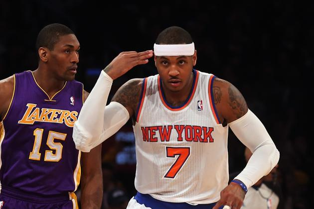 Melo: 'I Definitely Hurt My Team' by Getting Suspended