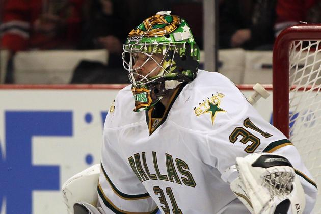 Stars Goalie Richard Bachman Ready to Battle It out for Playing Time in Net