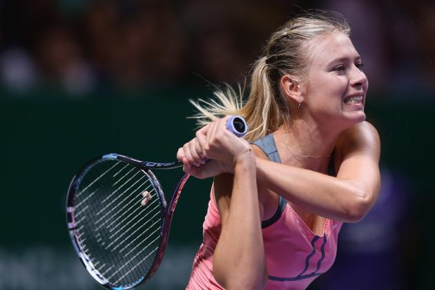 Sharapova Says She Would Have Liked to Have Been Match Fit for Australian Open