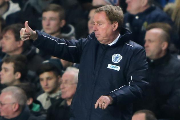 QPR Work Rate Delights Redknapp After Holding in-Form Spurs to Goalless Draw