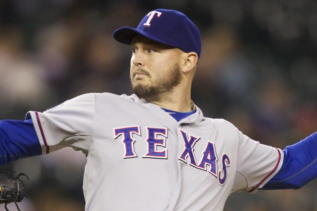 Rangers Talking Contract Extension with Left-Hander Matt Harrison