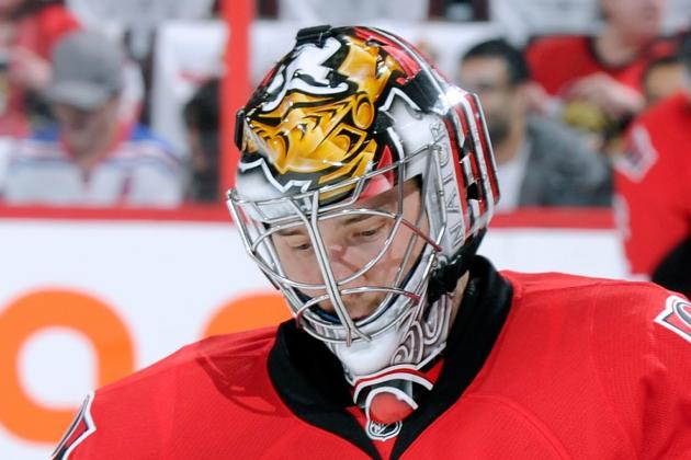 Lehner, Bishop Arrive in Ottawa for Goalie Showdown
