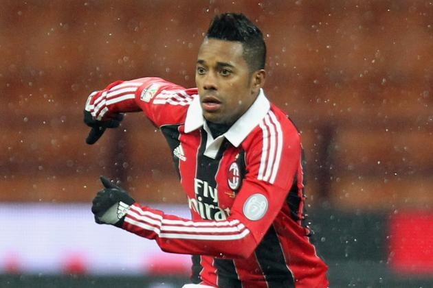 Robinho In, Antonini out