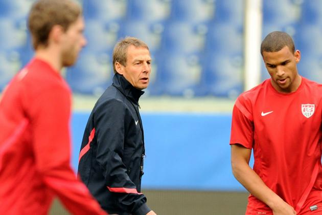USMNT Camp Reports: Nutrition and Fitness, with Just a Few Touches So Far