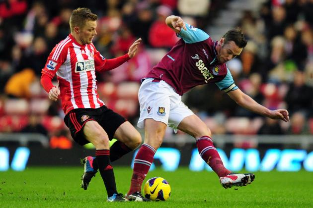 Sunderland Dominate West Ham as Marouane Chamakh Makes Debut