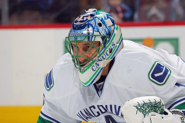 Luongo 'Totally Fine' with Possible Trade by Canucks