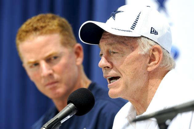 Cowboys Owner Jerry Jones Reportedly Wants Jason Garrett to Stop Calling Plays