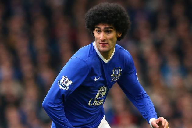 Manchester United Transfer Rumors: Marouane Fellaini Must Be Man U's Top Target