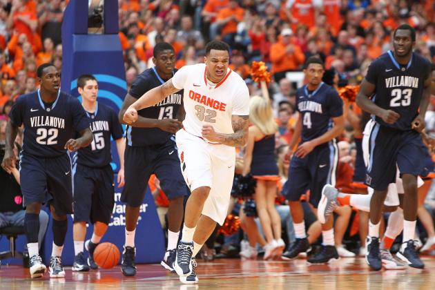 College Basketball: Second Half Surge Leads Syracuse Past Villanova