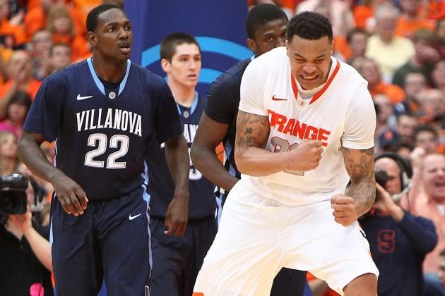 Syracuse Basketball Team's Depth Keys Win over Villanova