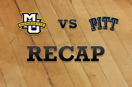 Marquette vs. Pittsburgh: Recap and Stats
