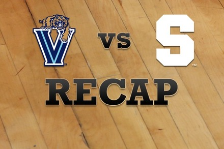 Villanova vs. Syracuse: Recap and Stats