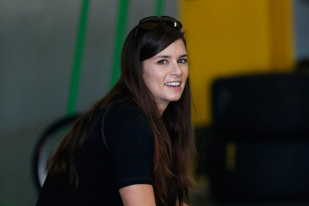 Danica Patrick Finds Some Speed at Daytona Testing