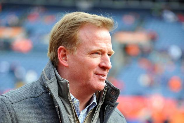Goodell Talks Up a Denver Super Bowl
