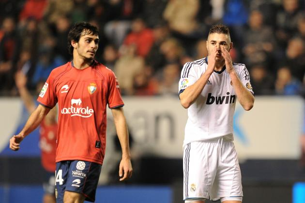 Real Madrid Show Their Worst Face in Draw to Osasuna