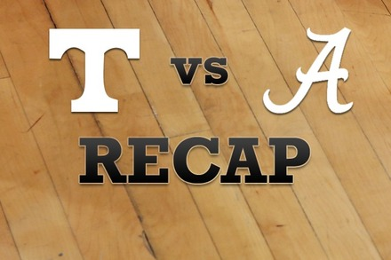 Tennessee vs. Alabama: Recap and Stats