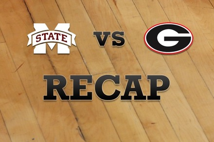 Mississippi State vs. Georgia: Recap and Stats