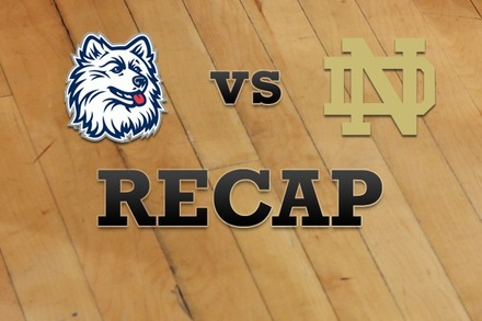 Connecticut vs. Notre Dame: Recap and Stats