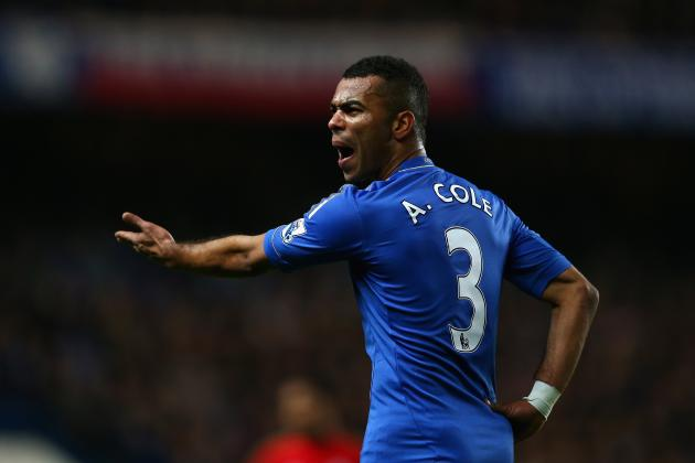 Manchester United Transfer News: Ashley Cole Is Very Good Short-Term Option