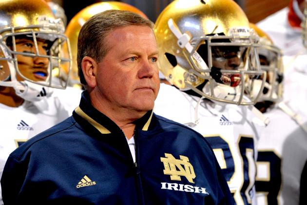 Brian Kelly Will Spurn NFL Interest to Remain at Notre Dame