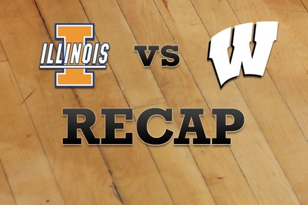 Illinois vs. Wisconsin: Recap and Stats
